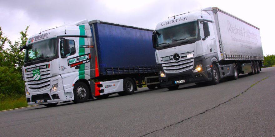 Testfahrt auf dem Nürburgring